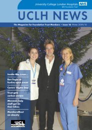 UCLH News Template - University College London Hospitals