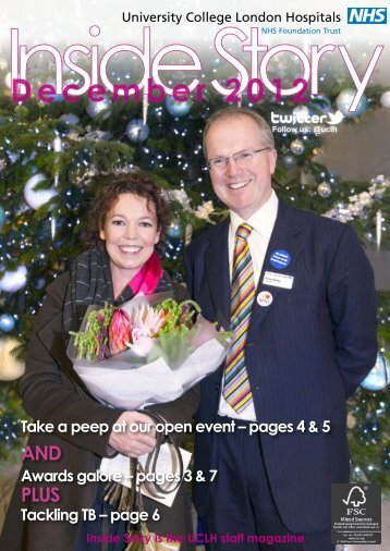 Inside Story - December 2012 - University College London Hospitals