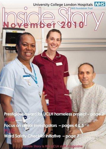 Inside Story - University College London Hospitals