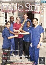 August 2012 - University College London Hospitals