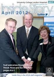 April 2012 - University College London Hospitals