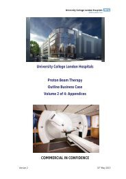 Proton Beam Therapy - Outline Business Case (OBC) - Volume 2