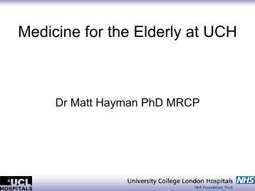 Dr Matt Hayman