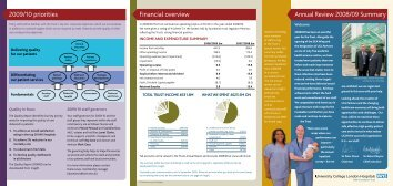 Annual Review 2008/09 Summary 2009/10 priorities Financial ...