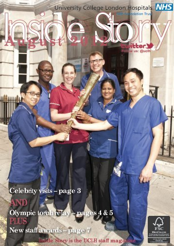 August 2012 - University College London Hospitals