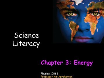 Forms of Energy - ISNAP