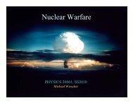 Nuclear Warfare - ISNAP