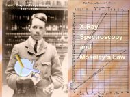 X-Ray Spectroscopy and Moseley's Law