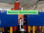 Neutron Spectroscopy