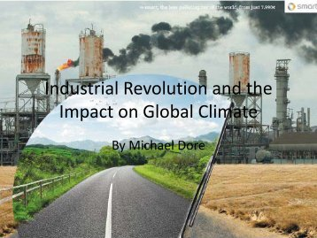 Industrial Revolution and the Impact on Global Climate