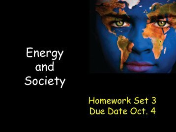 Energy and Society - ISNAP