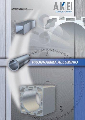 Catalogo Lame per alluminio - Howema Italia