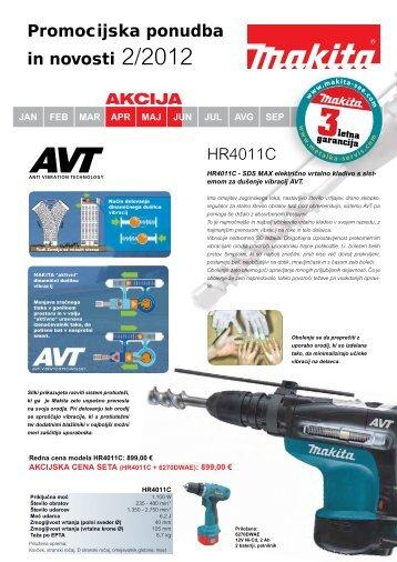 Promocijska ponudba in novosti 2/2012 AKCIJA - Metalka-servis.com