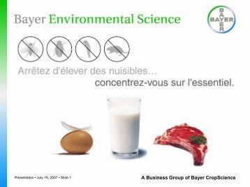 Présentation produit - Bayer Pestcontrol Expert