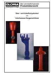 und Unterflurhydranten - Graf Feuerschutz