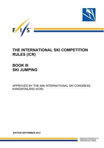 ICR - International Ski Federation