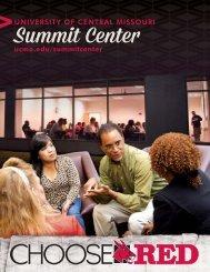 Summit Center Viewbook - University of Central Missouri