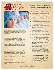 Online Degree Bachelor of Science for Registered Nurses
