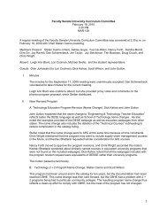 Faculty Senate University Curriculum Committee February 18, 2010 ...