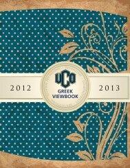 GREEK VIEWBOOK - University of Central Oklahoma