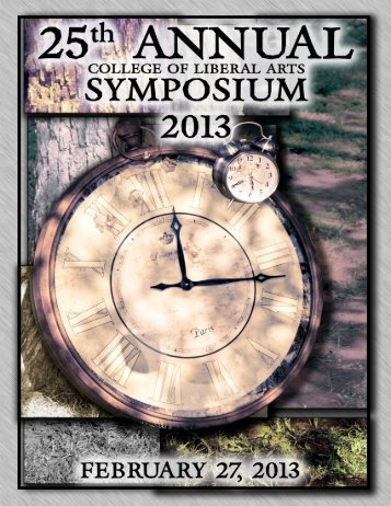 College of Liberal Arts Symposium - University of Central Oklahoma