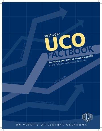 Factbook 2011-2012 - University of Central Oklahoma