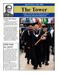Frederickson Special Issue - University of Central Oklahoma