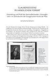 GLAUBENSESSENZ IN HANDLICHEM FORMAT - Evangelische ...
