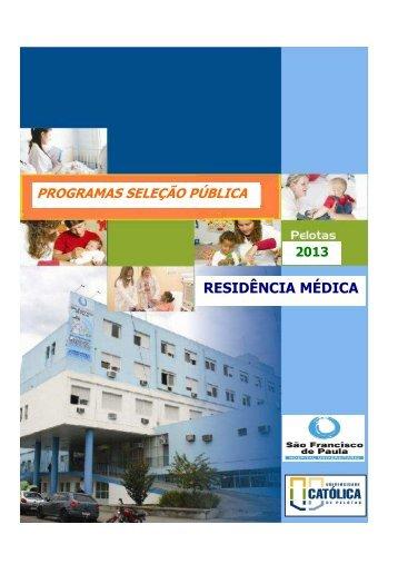 Programas - Universidade Católica de Pelotas