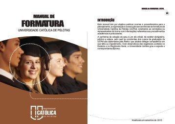 FORMATURA - Universidade Católica de Pelotas