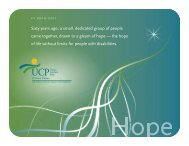 View 2011 Annual Report in PDF Format - United Cerebral Palsy of ...