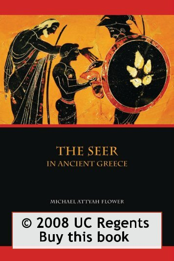 The Seer in Ancient Greece - University of California Press