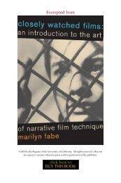 Read Chapter 3 (PDF) - University of California Press