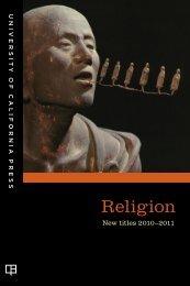 Religion - University of California Press
