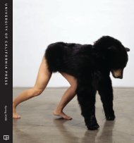 Spring 2008 Rights Catalog - University of California Press