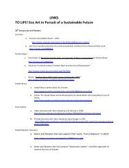 Download a list of links to additional resources for To Life! (PDF)