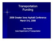 Transportation p Funding - Conference Planning and Management