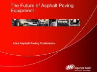 Future of Asphalt Paving Equipment - Conference Planning and ...