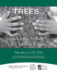 Tree - Conference Planning and Management - Iowa State University