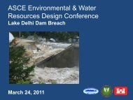ASCE Environmental & Water Resources Design Conference