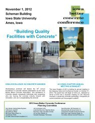brochure here. - Conference Planning and Management - Iowa ...