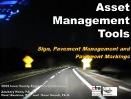 Asset Management Tools - Conference Planning and Management