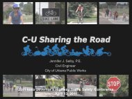 C-U SHARING THE ROAD - Conference Planning and Management