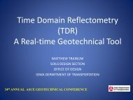 A Real-time Geotechnical Tool - Conference Planning and ...