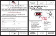 Black Belt Brochure - Conference Planning and Management - Iowa ...