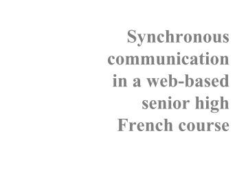 thesis on mobile communication