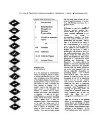Volume 5 - Issue 1 - Memorial University of Newfoundland