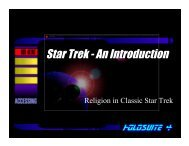 11 Classic Trek combo