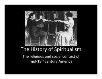 03 Spiritualist History