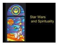 Star Wars religion 1 - Memorial University of Newfoundland